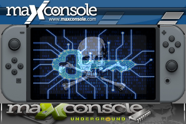"""A promo image for the MaxConsole """"Underground"""" forum, which DOJ's indictment alleges was used for the distribution of pirated game ROMs."""